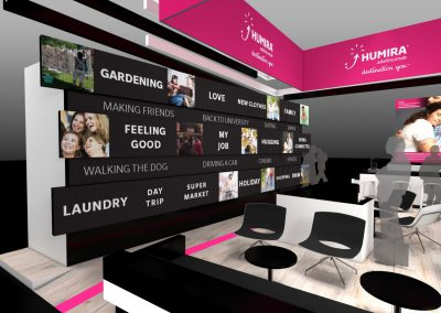 expowise standontwerp styling display tentoonstelling beursstand showroom experience beleving productpresentatie exhibition booth