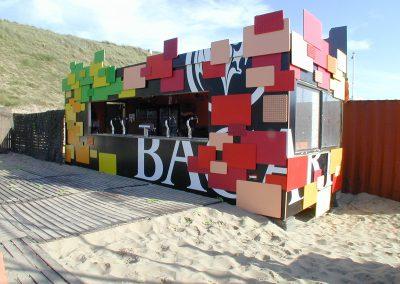 Woodstock bar decoratie