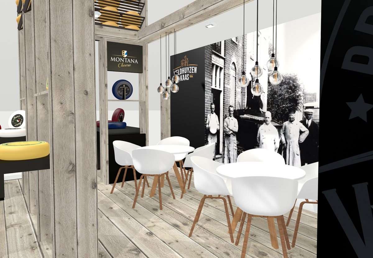 Ambacht Craft storytelling atelier expowise standontwerp styling display tentoonstelling beursstand showroom experience beleving productpresentatie exhibition booth