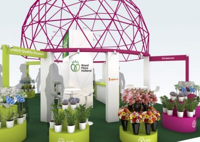 expowise Royal floraholland standontwerp Booth design fair styling display tentoonstelling beursstand showroom experience beleving productpresentatie