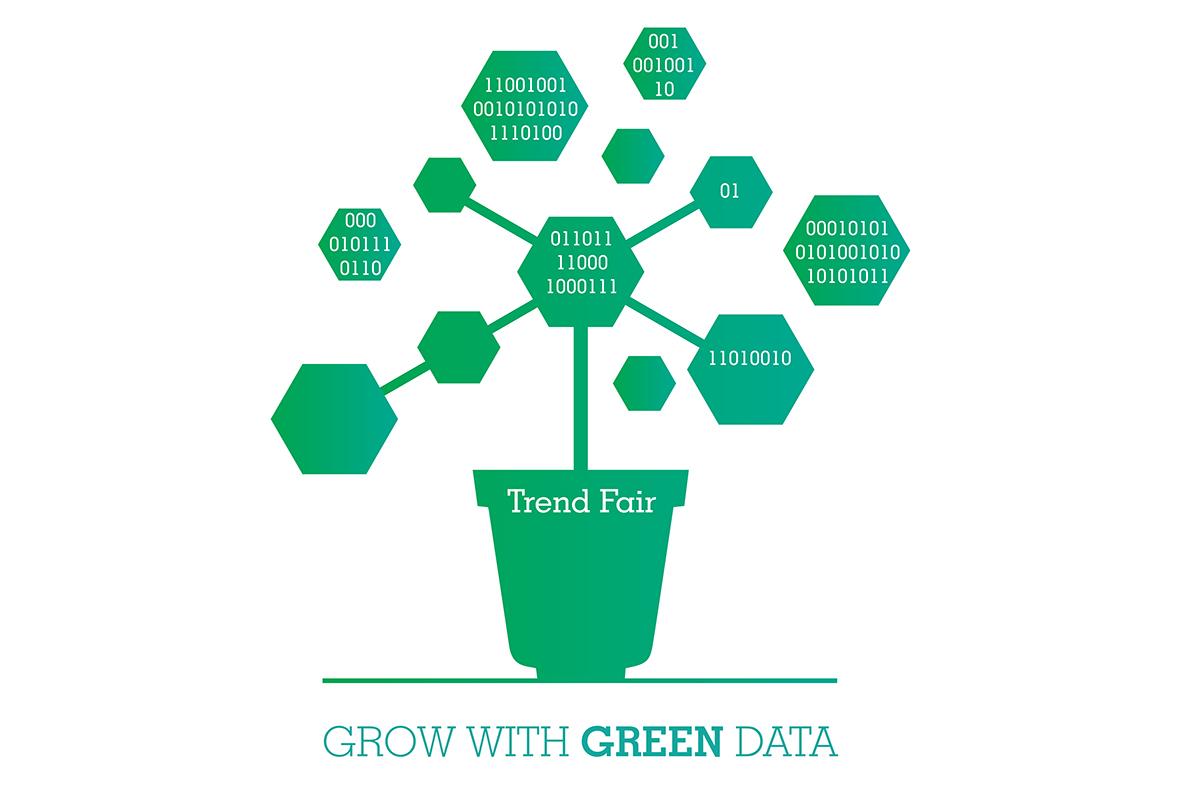 ontwerp logo voor de Trend fair 2018